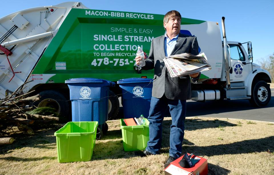 Telegraph: Changes in recycling, garbage collection mean adjustments for Macon residents