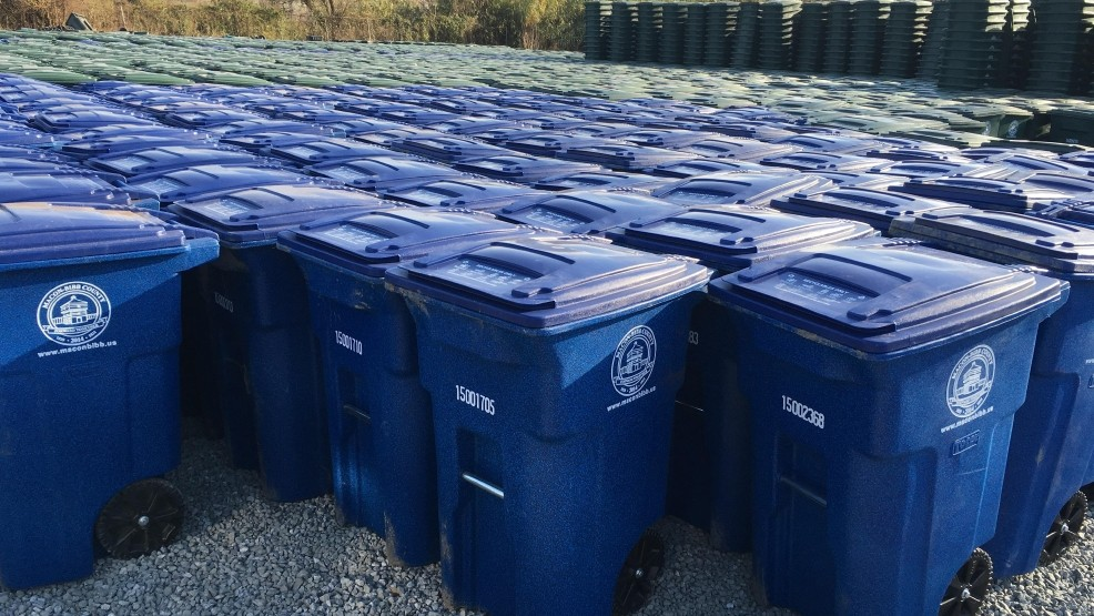 WGXA: County begins distribution of recycling bins to Macon-Bibb residents