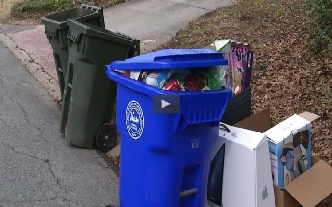 WGXA: Macon-Bibb residents eager to begin recycling initiative