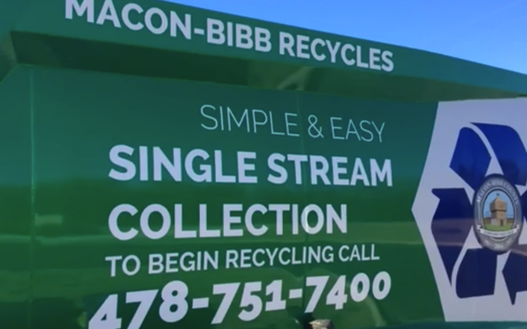 Telegraph: Video – Changes underway with Macon recycling, garbage collection