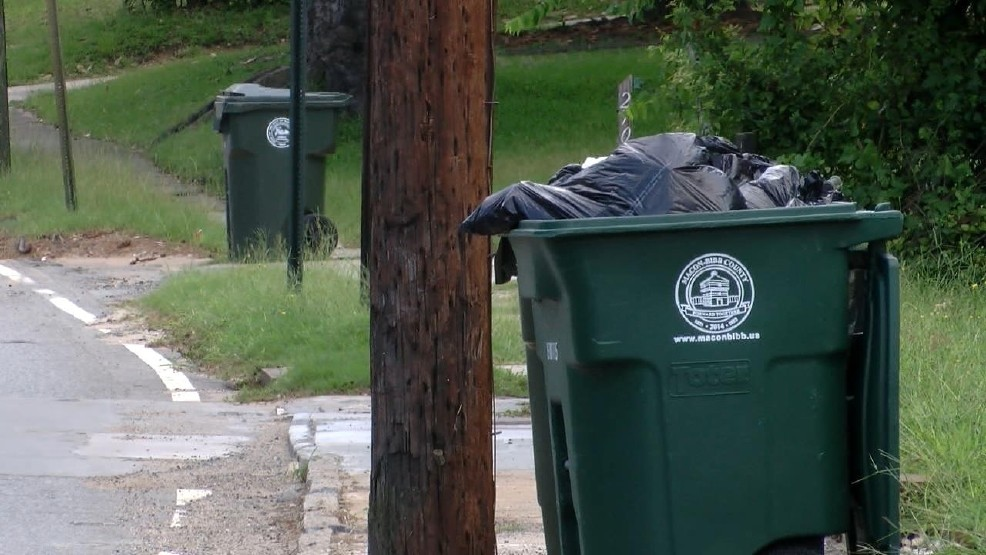 WGXA: Macon-Bibb residents to expect increase in trash fees